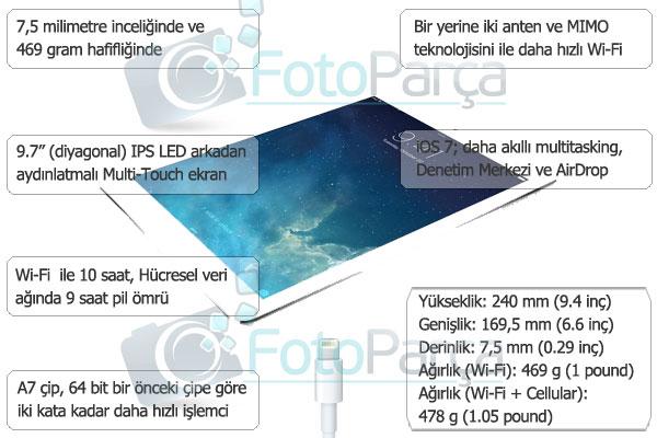 ipad-air-özellikler