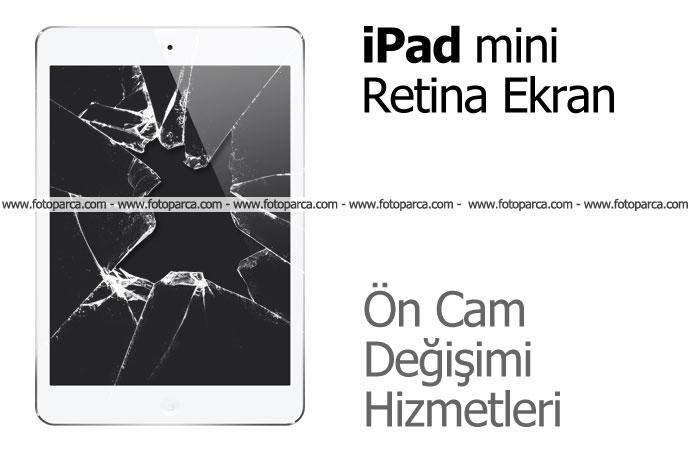 iPad Mini Retina Ekran Ön Cam Değişimi