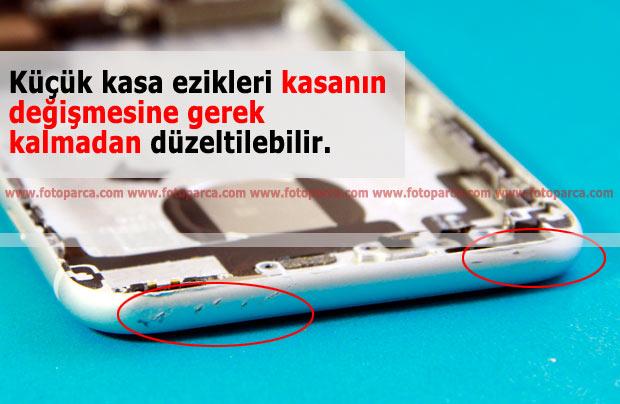 iPhone Kasa Eziklerinin Düzeltilmesi