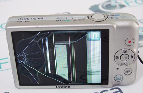 Fotoğraf makinesi ekran değişimi