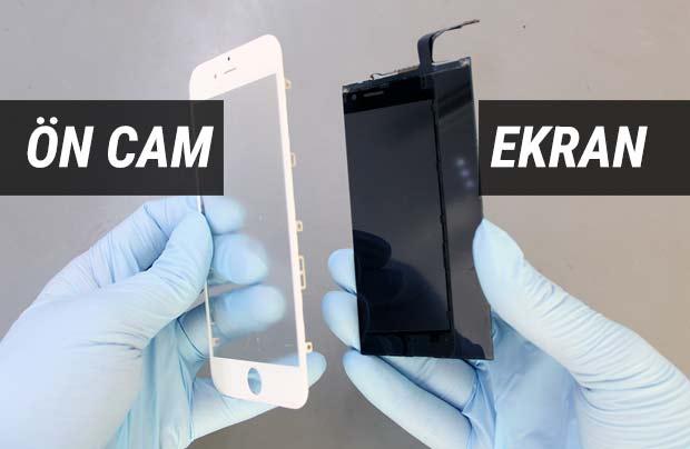 Ön Camı Kırık iPhone'a Ekran Değişimi Yaptırmayın