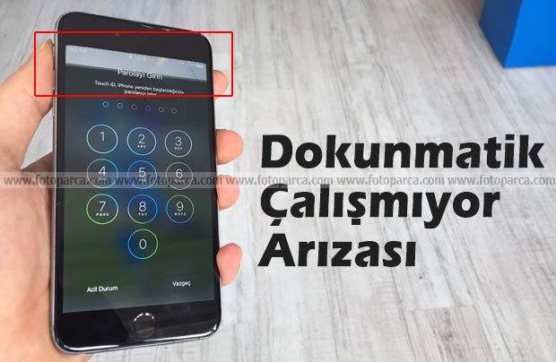 iPhone Dokunmatik Çalışmıyor Sorunu ve Tamiri