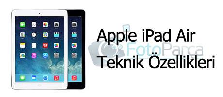 iPad Air teknik özellikleri