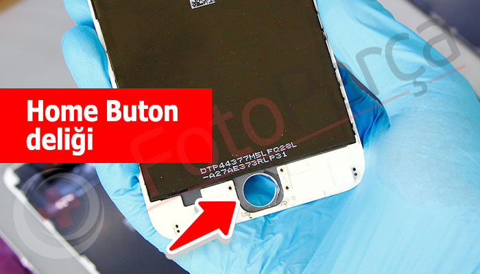 iPhone 6 home buton deliği