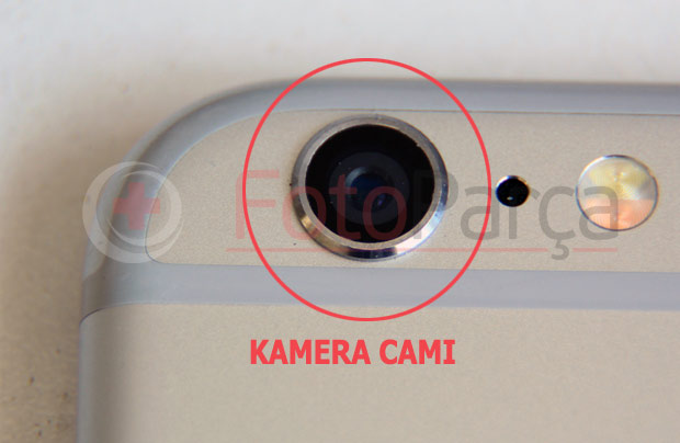 iPhone 6 kamera camı