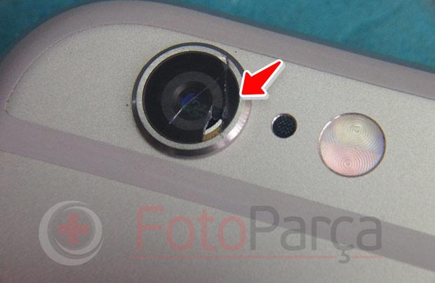 iPhone 6 kamera camı kırık
