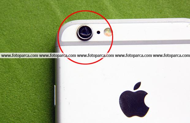 iPhone 6 kırık kamera camı