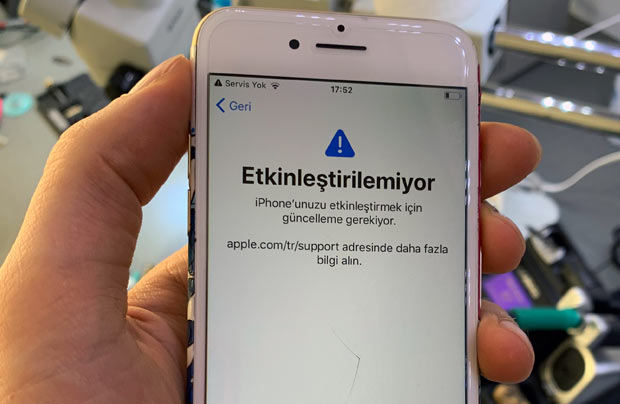 iphone 6 Plus yazilim guncelleme yok