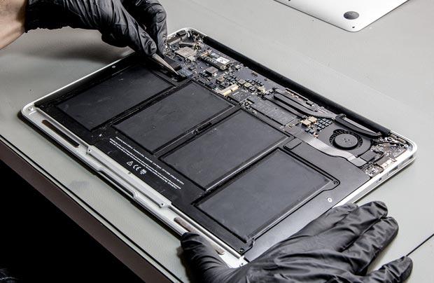 macbook pil çıkarma